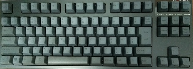 RealForce R2 「PFU limited Edition」の実機